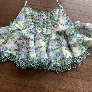Zimmermann Floral Skirt sz0